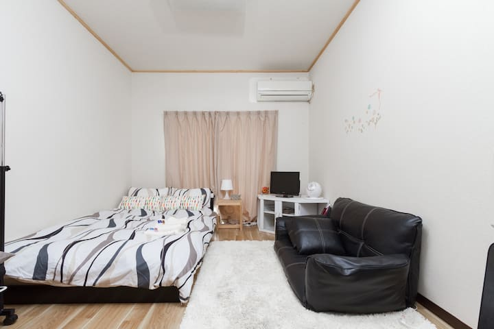 Shinsaibashi 9min WALK! Good access 3ppl OK! Wi-Fi - Nishi-ku, Ōsaka-shi - Apartament
