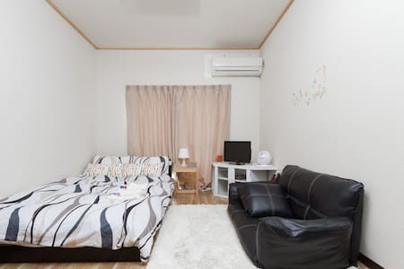 Shinsaibashi 9min WALK! Good access 3ppl OK! Wi-Fi - Nishi-ku, Ōsaka-shi - Appartement