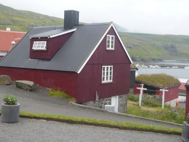 Hyggeligt gammelt hus
