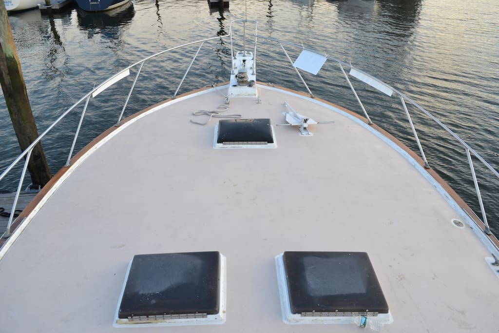 Outside View Bow Deck