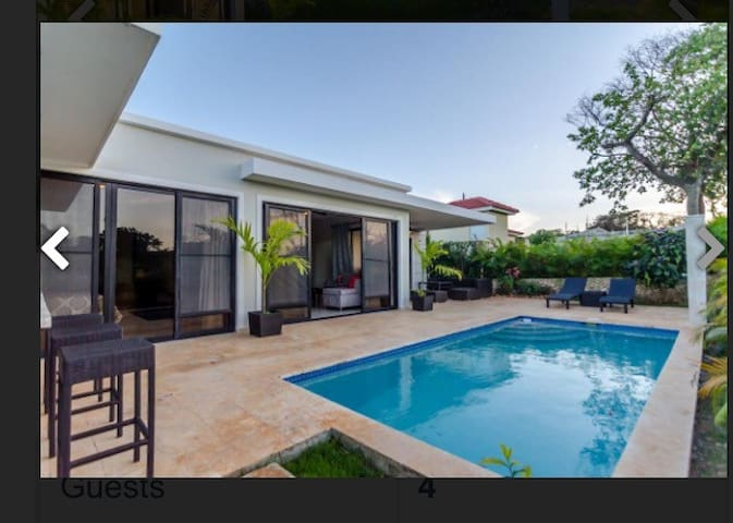 New LUXURY villa with Private Pool, optional chef