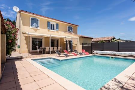 Villa avec piscine - Cabrières - Casa