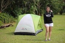Set up your own tent