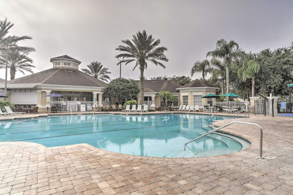 The villa is located at Windsor Palms Resort just 5 miles from Animal Kingdom.