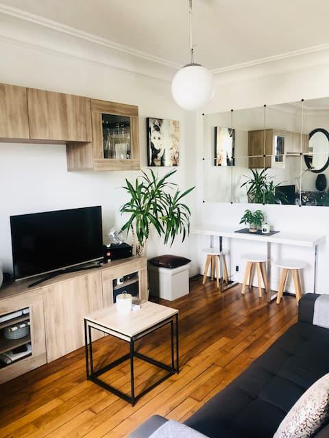 Cosy appartement à Levallois