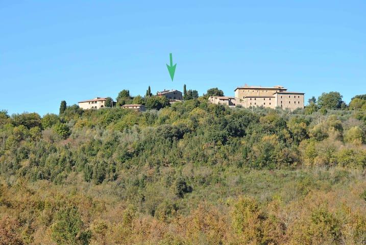 Nella Riserva di Bagnaia, in una antica Canonica - Sovicille - Alojamento na natureza