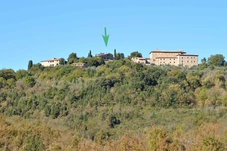 Nella Riserva di Bagnaia, in una antica Canonica - Sovicille - Doğa içinde pansiyon