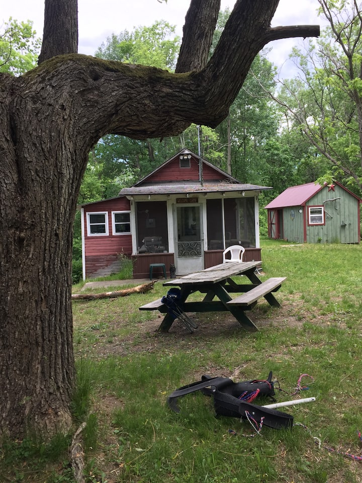 Private camp on the Hudson River