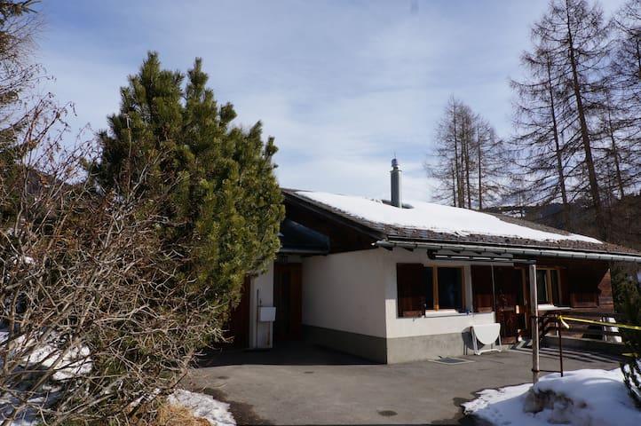 Freistehendes Ferienhaus Davos - Davos Frauenkirch - Casa