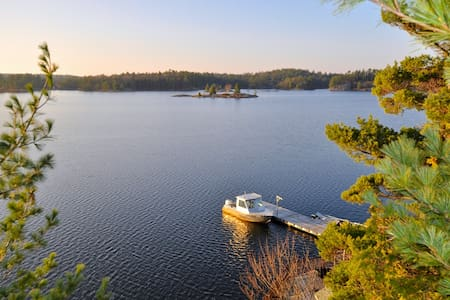 Massasauga Park - Georgian Bay - Parry Sound - Kabin