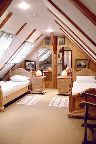 Reiten, Wandern, Relaxen in der Lüneburger Heide - Egestorf - Huis