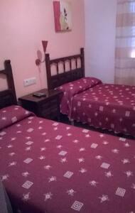 habitacion dos camas - Calanda
