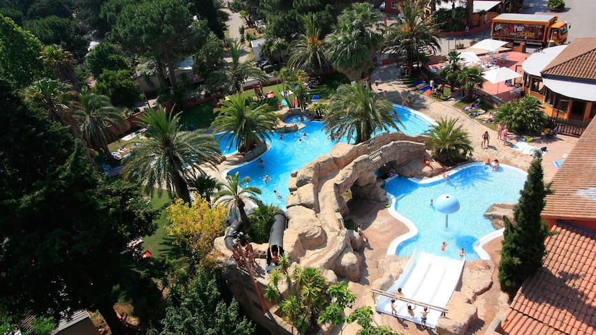 Camping Hippocampe 5* 2 bedrooms + air-con