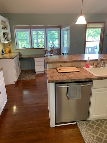 Riverfront Home with Large Private Walkout