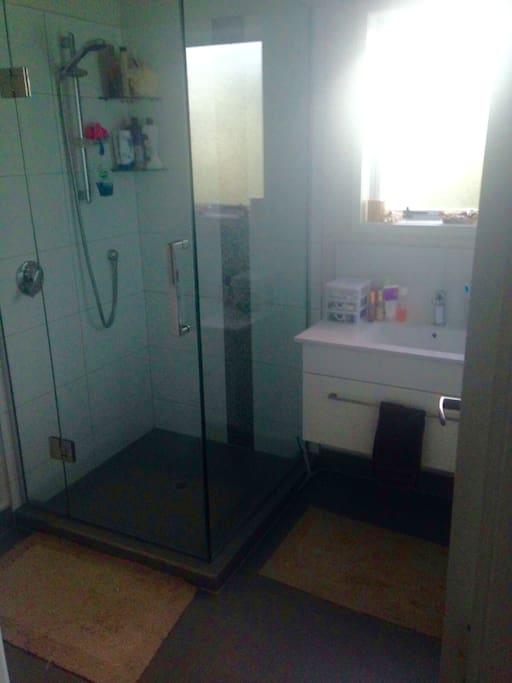 Shower, wash room