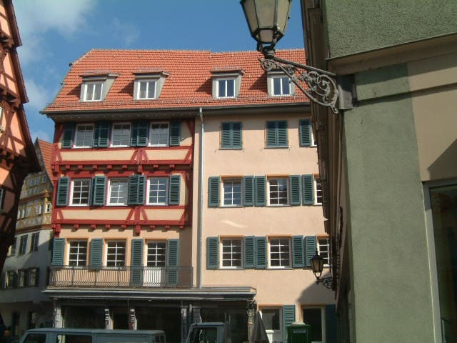 Gemütliche Altstadtwohnung Zentrum - Esslingen am Neckar - Apartment