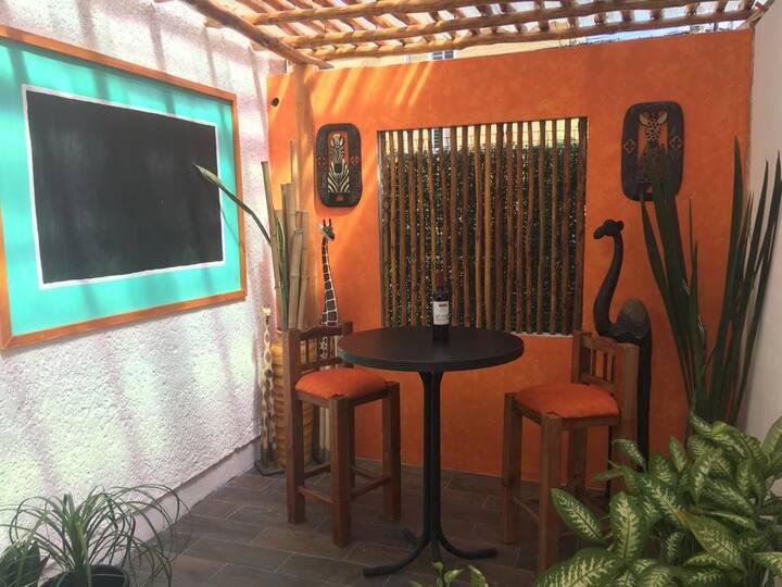 Habitación en Hermoso departamento estilo caribeño