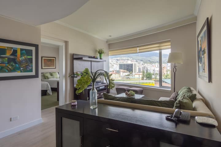 Exclusive Apartment adjacent to Quito JW Marriott