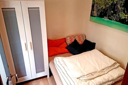 ROOM WITH BALCONY - BARCELONETA BEACH & SUBWAY