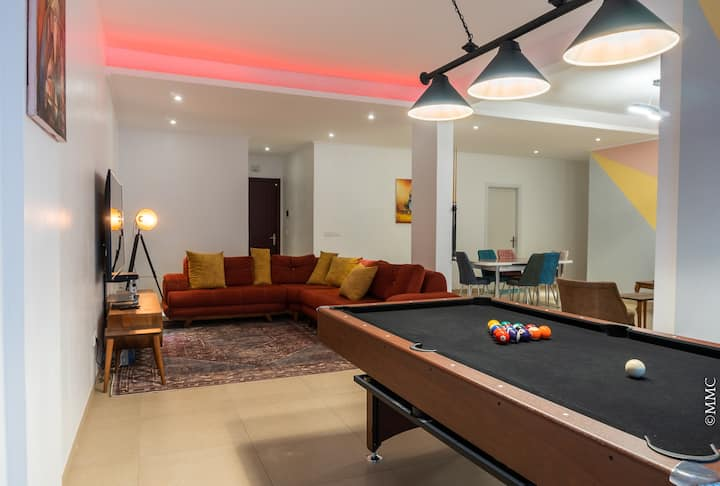 Luxury home W/ pool table - Espace Ataya