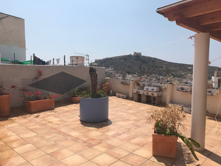 House with a view in Águilas