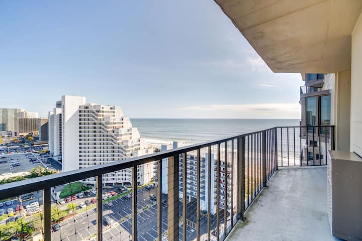 Enjoy the beautiful ocean and bay views from this gorgeous 2 Bedroom