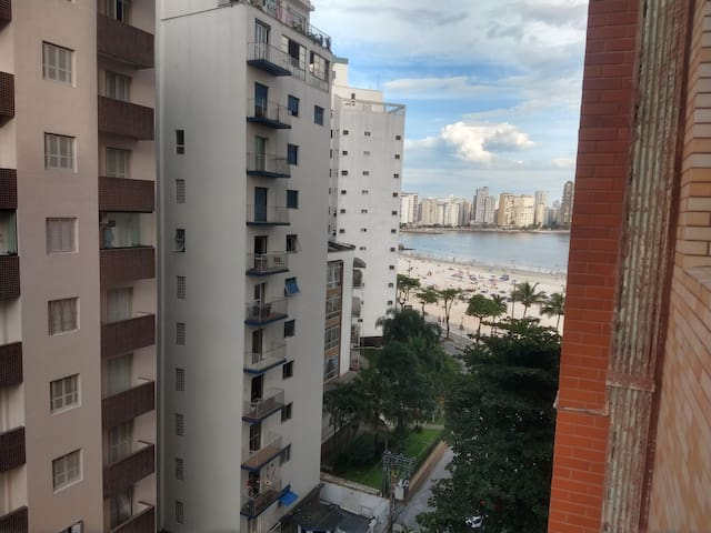 Apartamento Pé na Areia São Vicente Litoral Sul