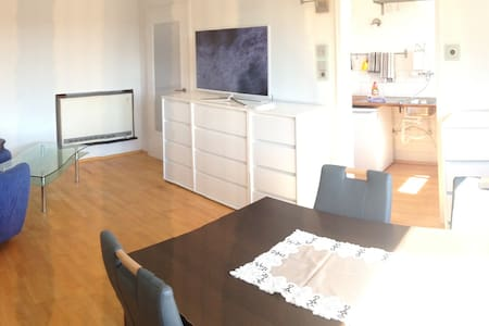 Helle Möblierte Wohnung in Hof - Hof - Apartamento