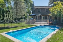 Heated Pool  (safety fence optional)
