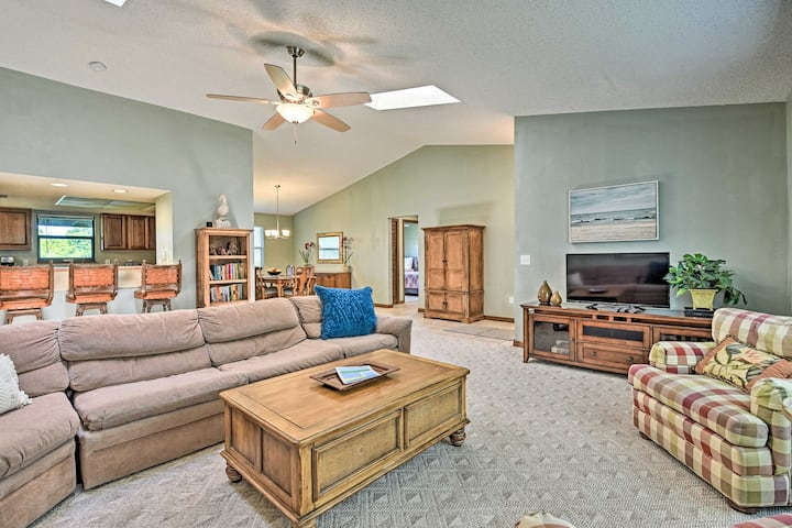 NEW! Spacious Home, 5 Mi to Beach & Int'l Speedway