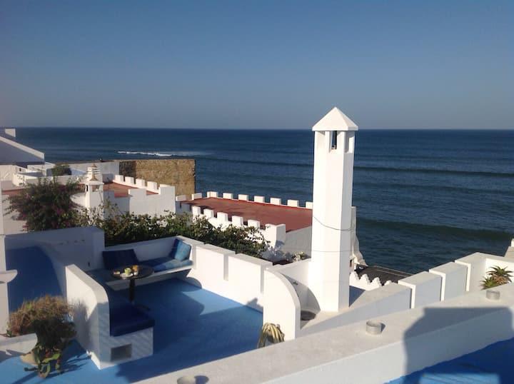 Maison avec terrasse et vue sur la mer à Asilah-14