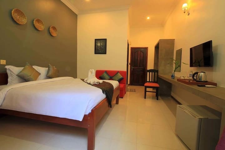 Deluxe Double Room at Sakun Angkor Boutique