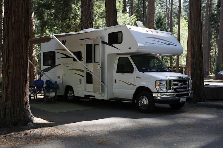 24' RV at Yosemite National Park  - Coarsegold - Wóz Kempingowy/RV