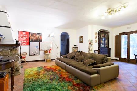 SUNNY MEDITERRANEAN VILLA - House