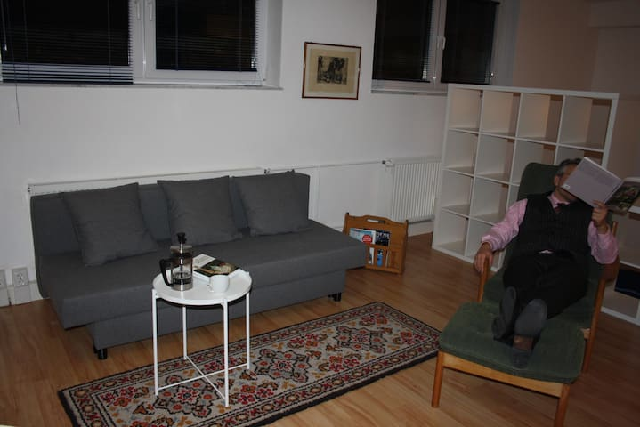 Quiet appartment with terrace near Tegel - Berliini - Huoneisto