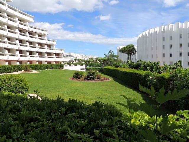 Studio 4 p. terrasse, plage à pied - La Grande-Motte - Apartemen