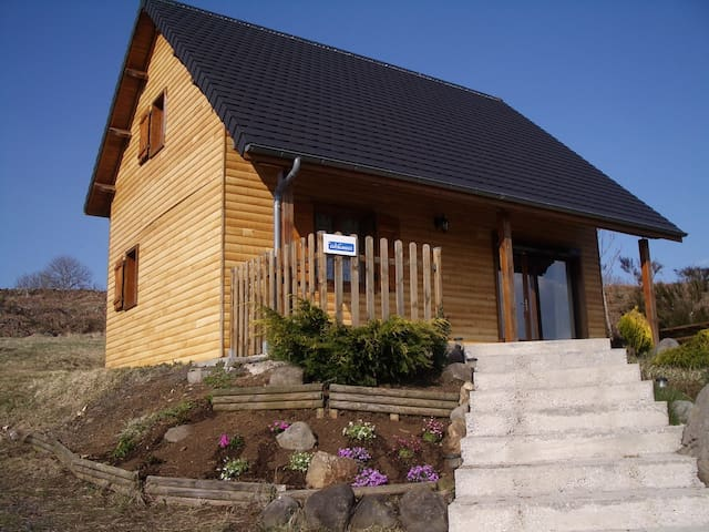 Chalet - 20 km from the slopes - Saint-Gènes-Champespe
