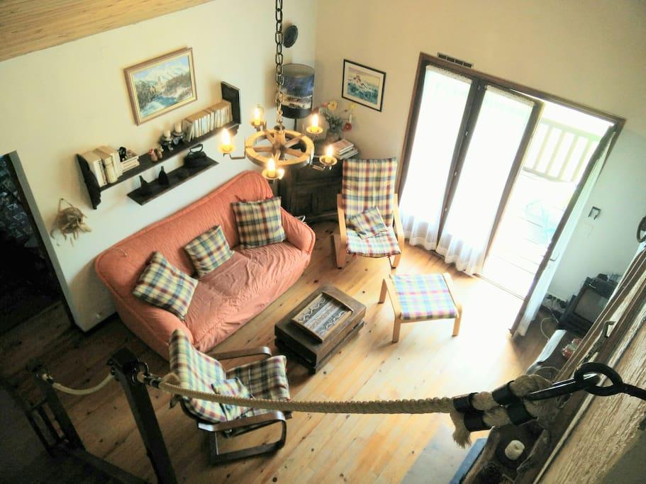 chalet avec joli cachet et vue magnifique chalets louer montclar provence alpes c te d. Black Bedroom Furniture Sets. Home Design Ideas