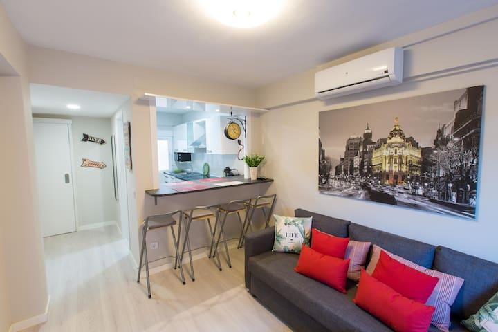 FREE COVID 19 Apartamento completo C/ Alcala 385