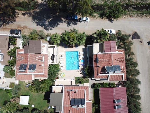 luxury apartments close to the sea and Çalışbeach