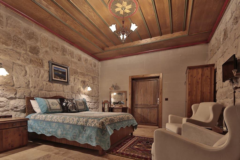 Guzide Cave Hotel stone double room 420 (Guzide Cave Hotel tas 2 kisilik oda 420