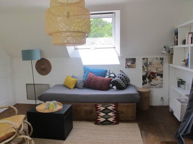 Appartement dans petit hameau au calme .