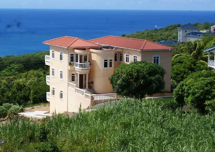 Private Room with a Sea View - Castries,  - Rumah