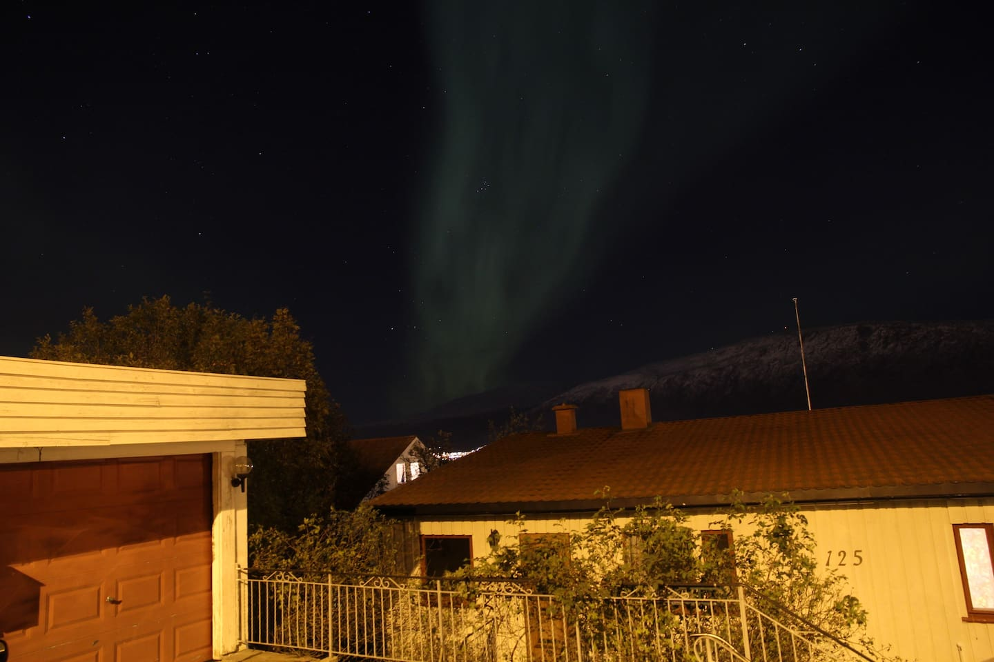 Northern Lights above your apartment :-)