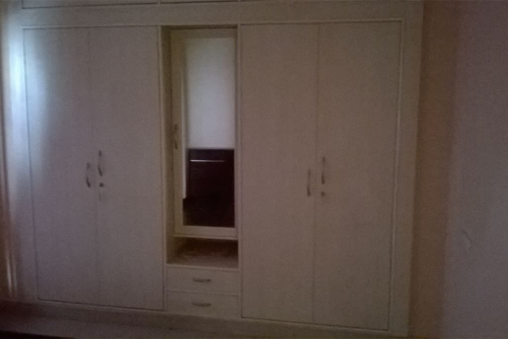 Wardrobe + Dressing table