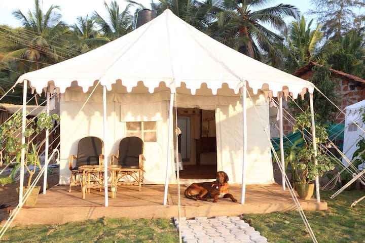 Glamorous tent at Talpona Beach Mercury - กัวใต้