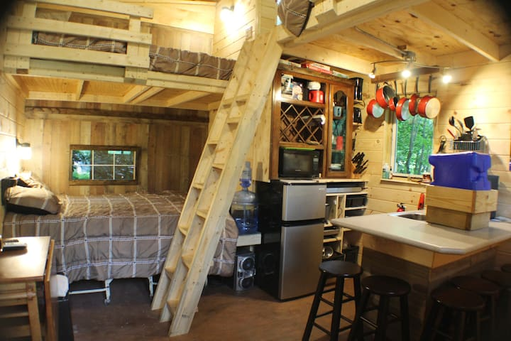 Camp BigFun: Tiny Hideaway Cabin