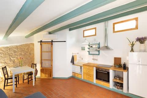 Rustiek gerenoveerd appartement con encanto (Garraf)