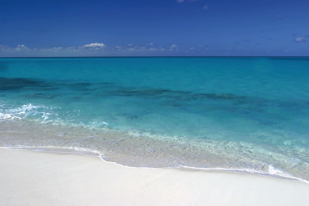 Our Sugar White Sands and Emerald Waters