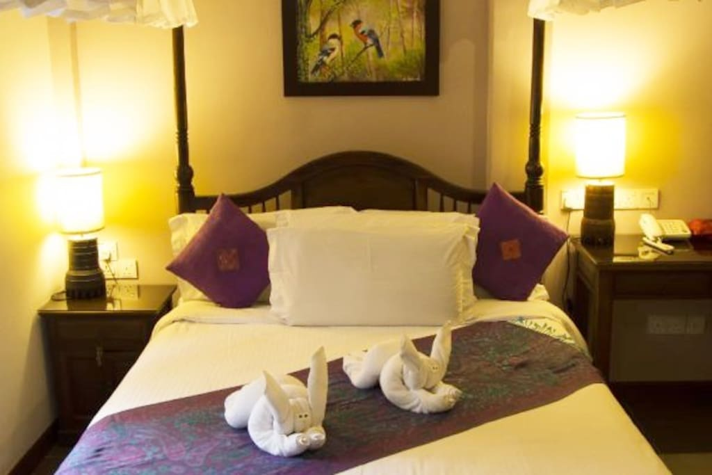 Fresh clean linens and towels are provided during your stay